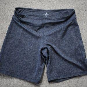 Athleta Kickbooty Bike Shorts Grey MP